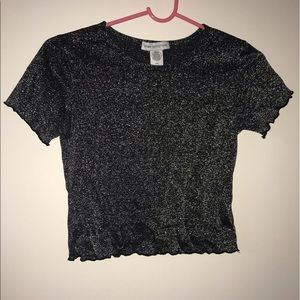 UO sparkly top